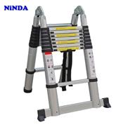 Thang nhôm rút gọn chữ A Ninda ND-56AI