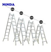 Thang nhôm Ninda ND-209 gấp chữ A