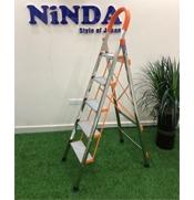Thang nhôm NiNDA bản to 5 bậc