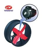 Quạt thông gió Komasu khung tròn motor tản nhiệt KM25T