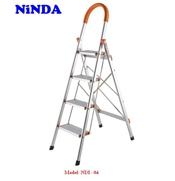 Thang inox NinDa bản to 4 bậc
