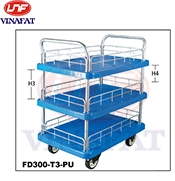 Xe đẩy sàn nhựa Feida FD-300T2